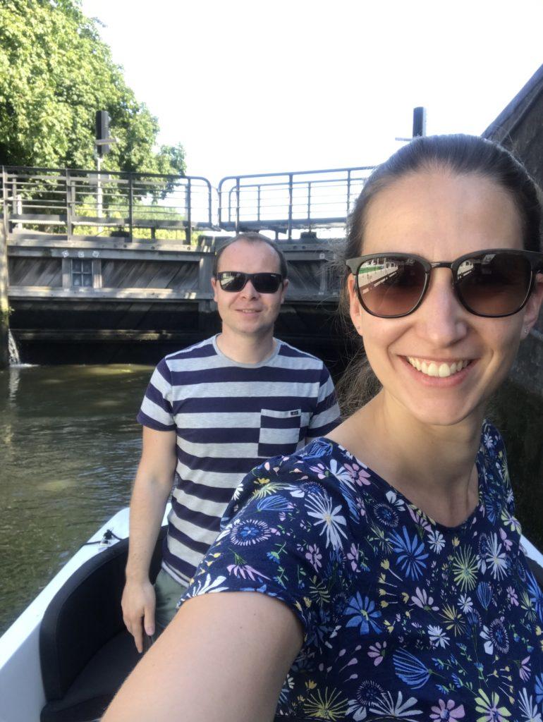 varen met onze boot