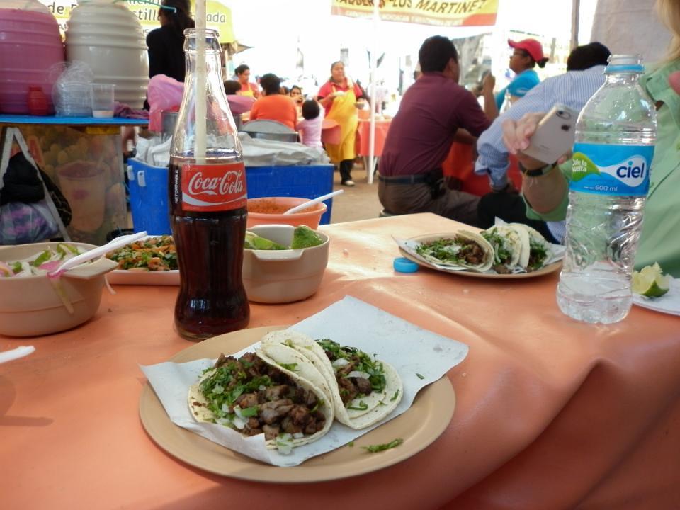 tacos cocacola