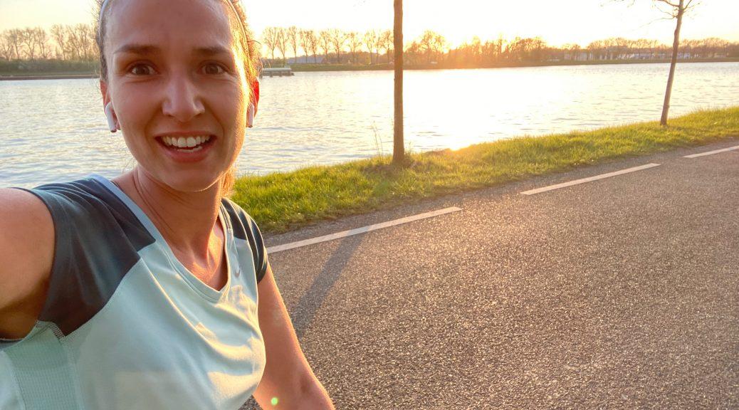 hardlopen in de lente